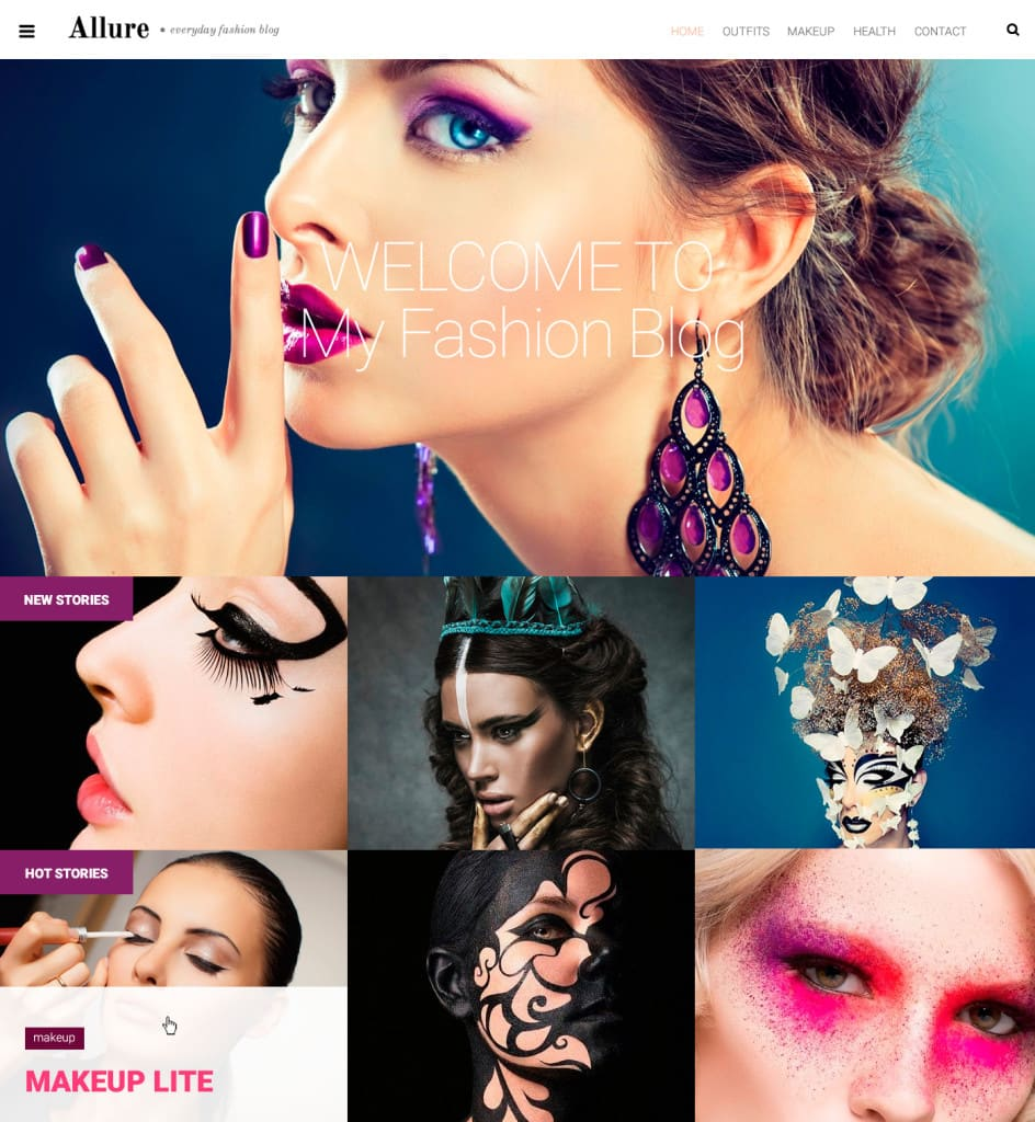 allure-wordpress-tema